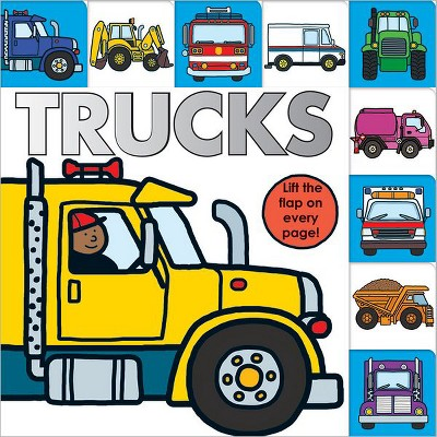 Lift-the-Flap Tab: Trucks (Board Book)by Sarah Powell & Roger Priddy