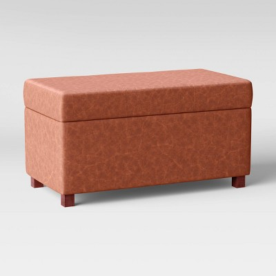 Essex Double Storage Ottoman - Threshold™