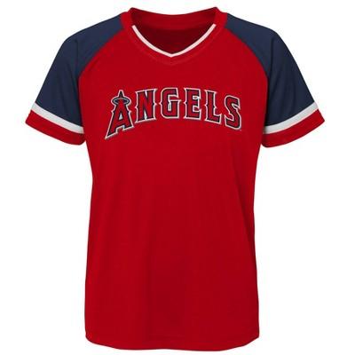 MLB Los Angeles Angels Boys' Pullover Jersey