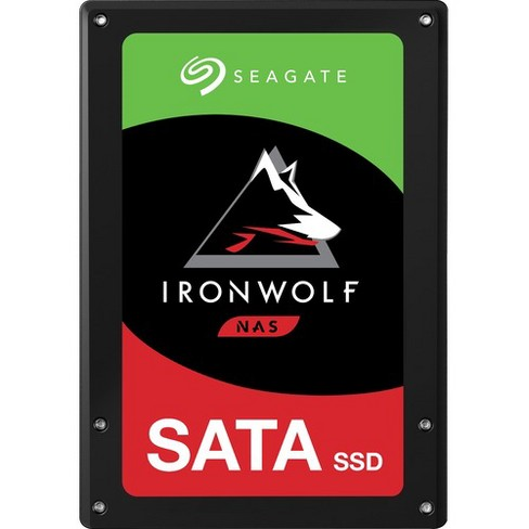 "Seagate IronWolf 110 ZA3840NM10011 3.84 TB Solid State Drive - 2.5"" Internal - SATA (SATA/600) - 560 MB/s Maximum Read Transfer Rate - 5 Year Warranty - image 1 of 1"