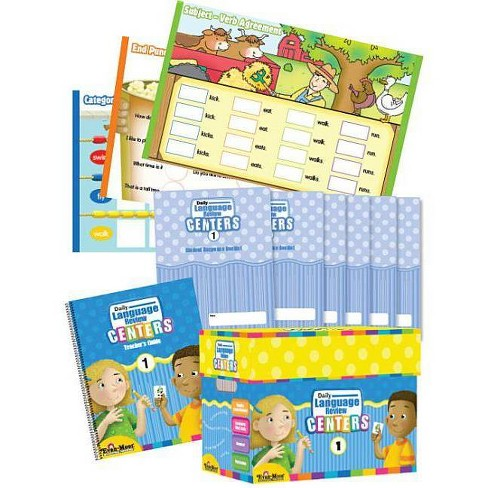 Daily Language Review Centers, Grade 1 Classroom Kit - by Evan Moor  (Hardcover)