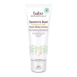 Babo Botanicals Sensitive Baby Fragrance Free Shampoo & Wash - 16oz