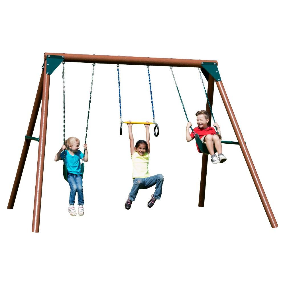 Swing-N-Slide Orbiter Swing Set, Multi-Colored