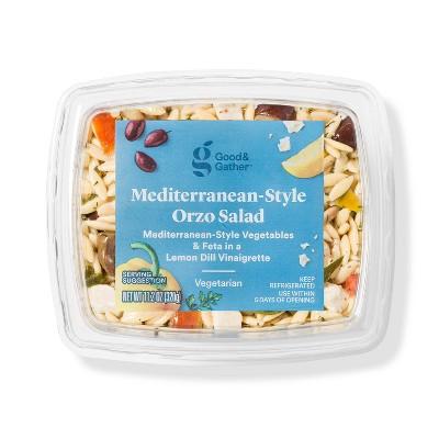 Mediterranean Orzo Salad - 11.2oz - Good & Gather™