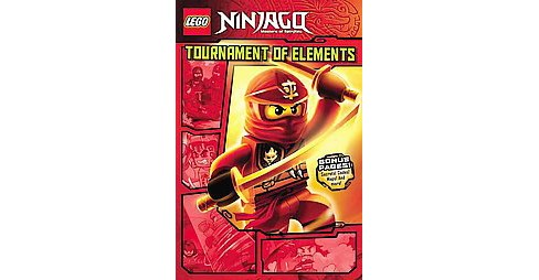 Lego Ninjago Masters of Spinjitzu 1 : Tournament of Elements (Paperback) (Greg Farshtey) - image 1 of 1