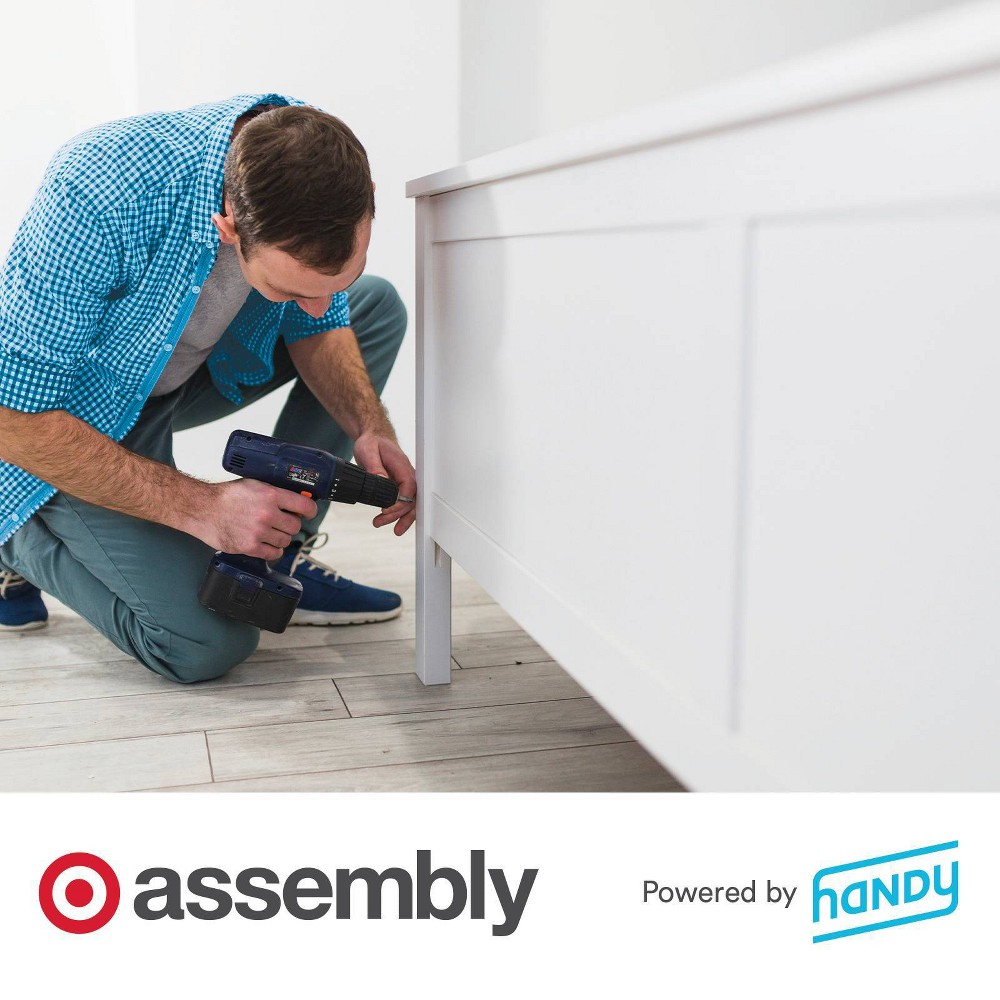 Headboard Assembly Powered By Handy