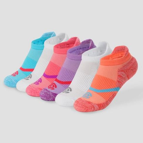 Girls' 6pk Heel Shield Socks - C9 Champion® - image 1 of 3