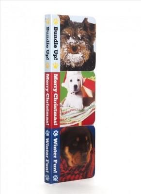 Winter Puppies Boxy Set (Hardcover)(Media Labs Books)