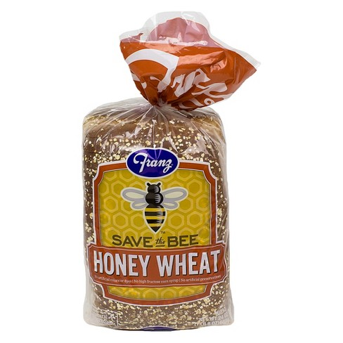 Franz Save the Bee Honey Wheat Bread - 24oz - image 1 of 2