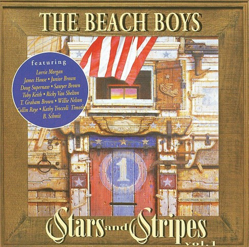 Beach boys - Stars & stripes (CD) - image 1 of 3