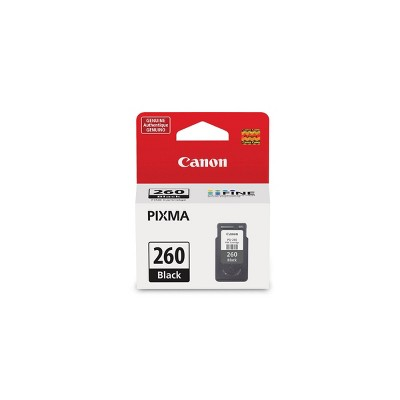 Canon PG-260 Single Ink Cartridge - Black (3707C005)