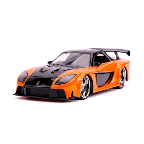 Jada Toys Fast & Furious 1993 Mazda RX-7 Die-Cast Vehicle 1:24 Scale  - Orange - image 1 of 4