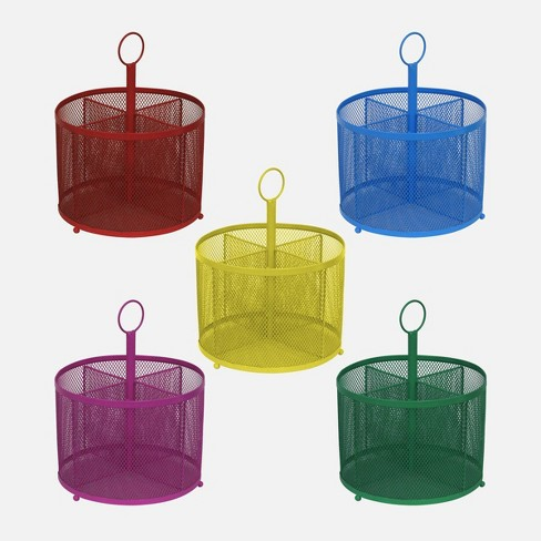 5ct Wire Mesh Supply Caddies - Bullseye's Playground™ - image 1 of 1