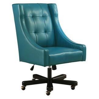 Barek Office Chair - Blue - Abbyson