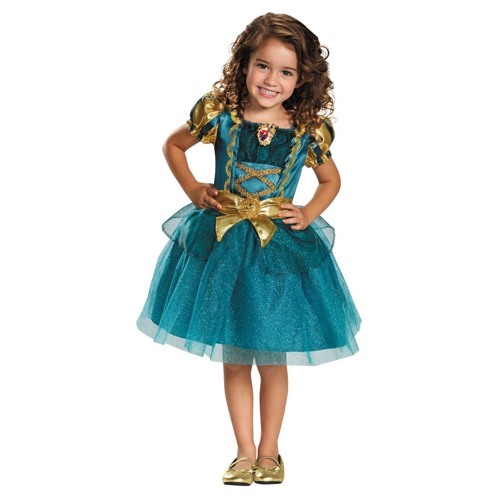 Girls' Merida Classic Toddler Costume 3t-4t, Multicolored