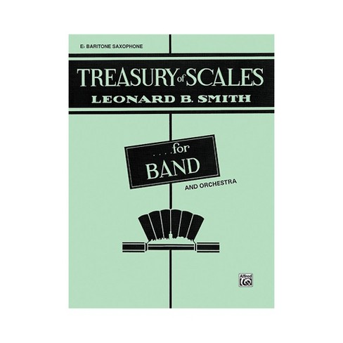 Alfred Treasury of Scales for Band and Orchestra 1st B-Flat Clarinet - image 1 of 1