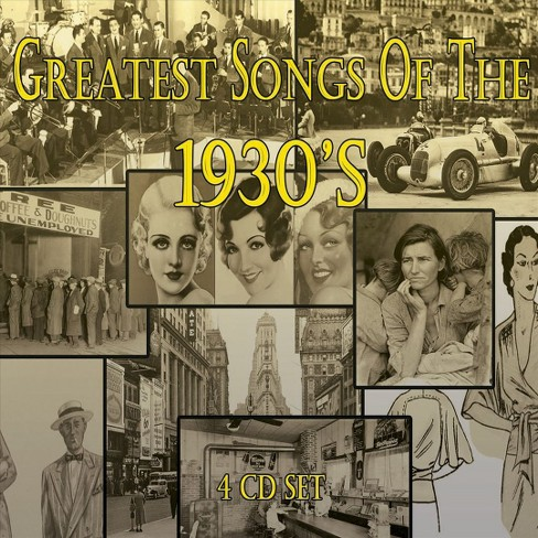 Various - Greatest songs of the 1930's (CD) - image 1 of 1