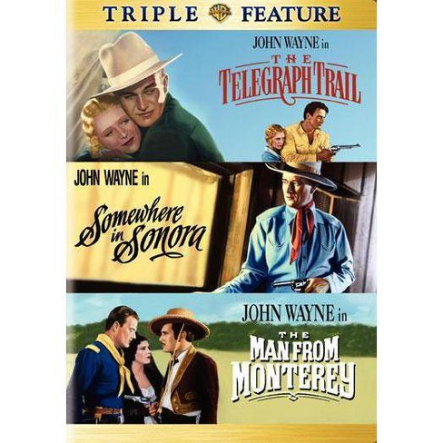Telegraph Trail / Somewhere In Sonora / Man From Monterey (DVD) - image 1 of 1