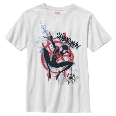 Boy's Marvel Spider-Man: Into the Spider-Verse Graffiti T-Shirt