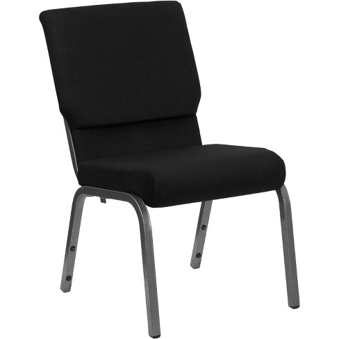 Riverstone Furniture Collection Fabric Church Chair Black - image 1 of 4