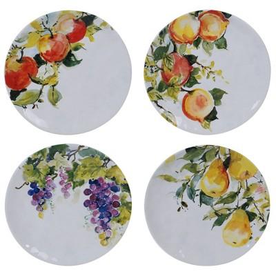 "8.5"" 4pk Earthenware Ambrosia Salad Plates - Certified International"