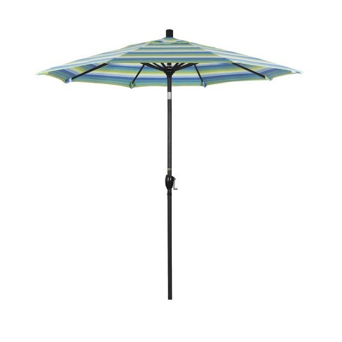 7.5' Patio Umbrella in Seville Seaside - California Umbrella - image 1 of 2