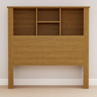 Twin Sadie Wood 4 Section Storage Headboard - Brookside Home