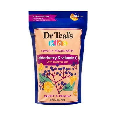 Dr Teal's Kids Elderberry & Vitamin C Epsom Salt - 32oz