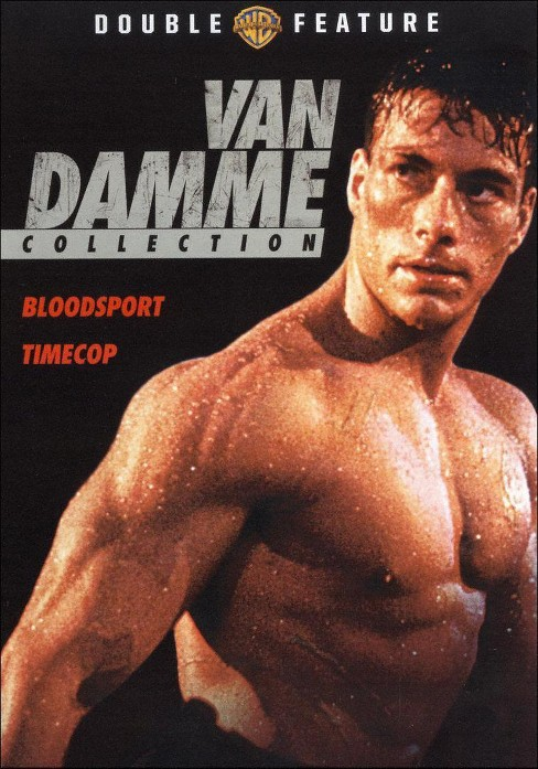 Van damme collection:Bloodsport/Timec (DVD) - image 1 of 1