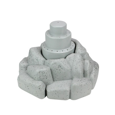 """Pool Central Rock Shaped Floating Fountain for Swimming Pools or Spa 11"""" - Gray - image 1 of 3"""
