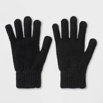 Men's Classic Gloves - Goodfellow & Co™ Black One size