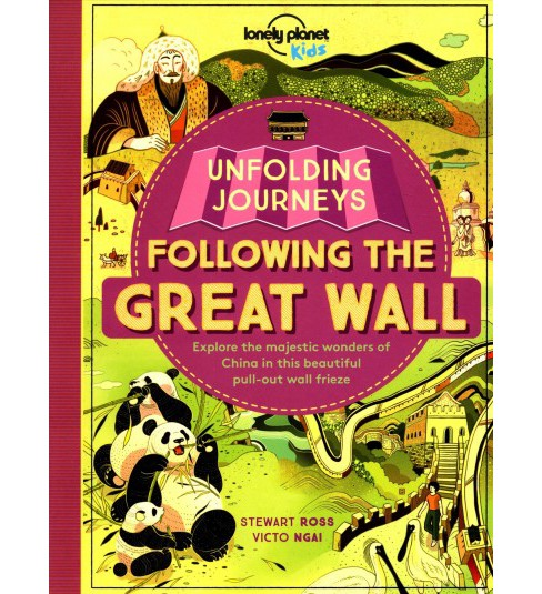 Unfolding Journeys Following the Great Wall (Paperback) - image 1 of 1