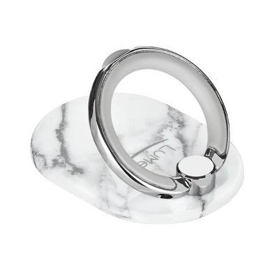 LuMee Ring - White Marble