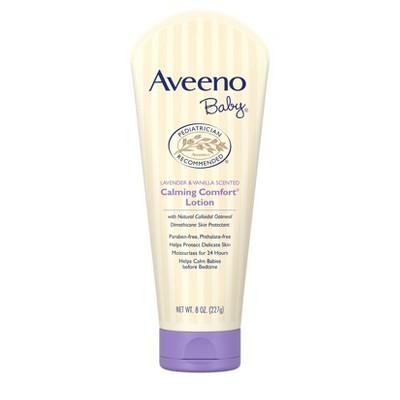 Aveeno - Baby Calming Comfort Lotion Lavender & Vanilla - 8oz.