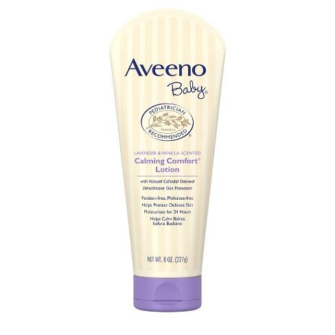 Aveeno - Baby Calming Comfort Lotion Lavender & Vanilla - 8oz. - image 1 of 4