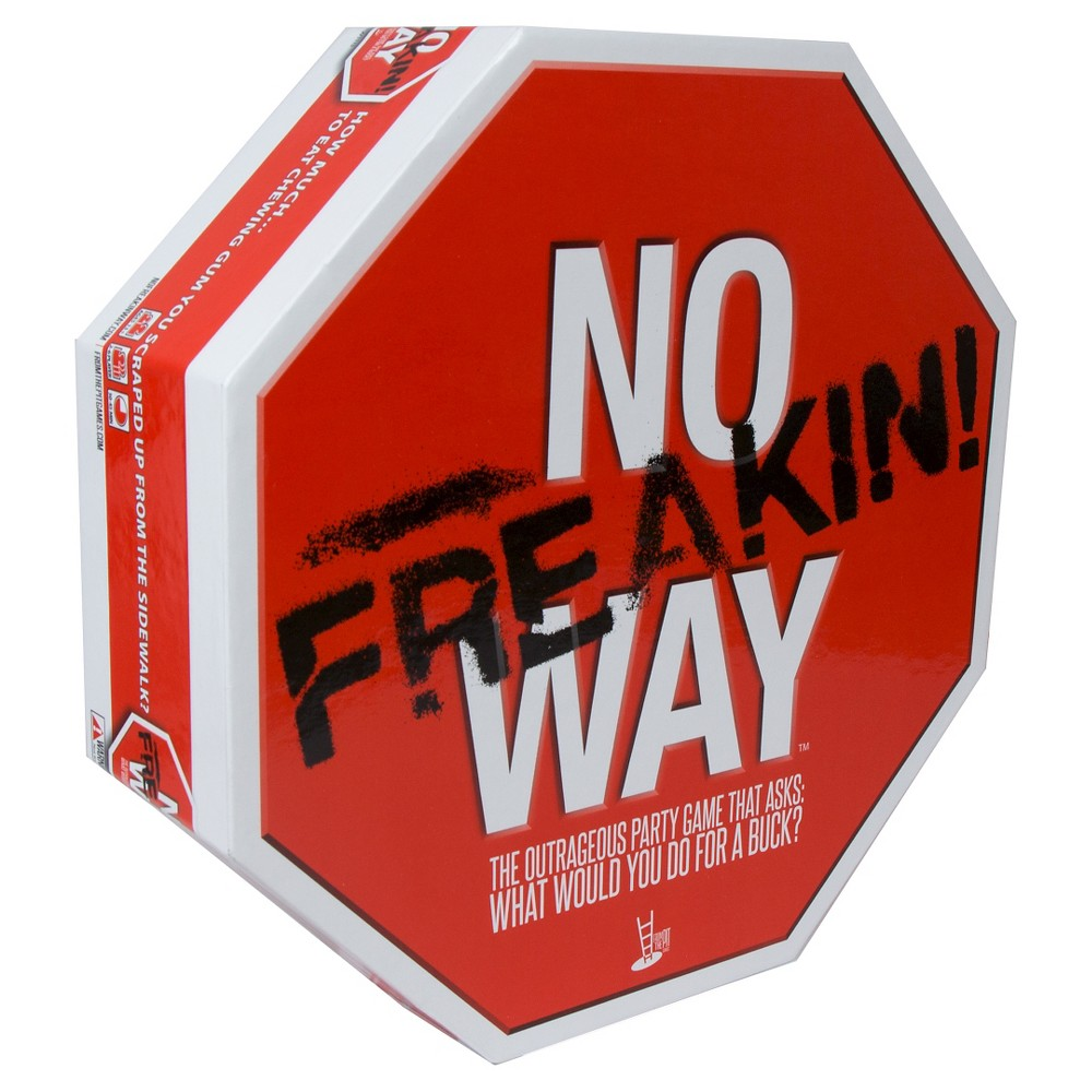Pressman Toy No Freakin! Way Party Game
