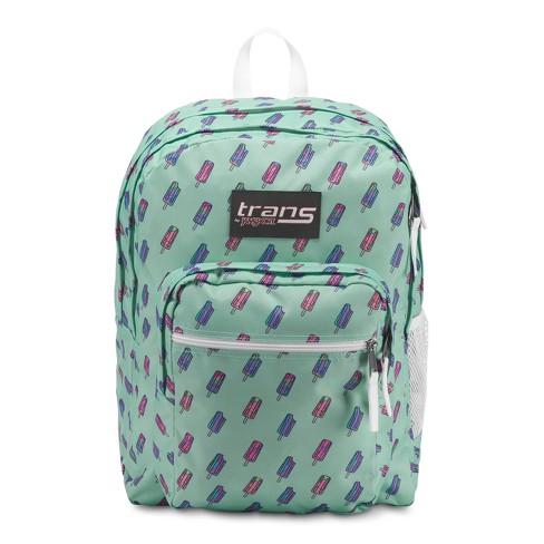 "Trans by JanSport 17"" SuperMax Backpack - Brook Green Brain Freeze - image 1 of 4"