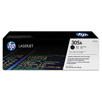 HP Inc. HP 305A (CE410A) Black Original LaserJet Toner Cartridge