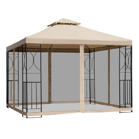 Steel Outdoor Patio Gazebo Canopy, Outdoor Patio Gazebo Canopy