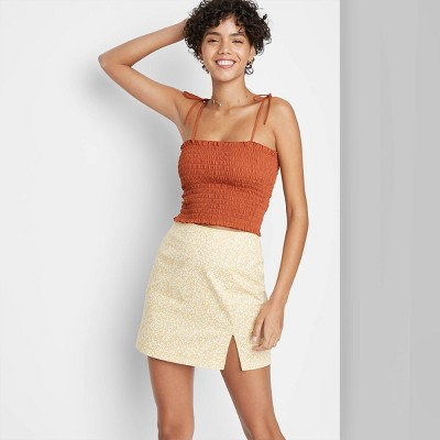 Women's Smocked Tube Top - Wild Fable™
