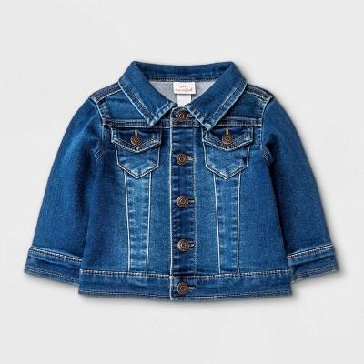 Baby Denim Jacket - Cat & Jack™ Blue 3-6M