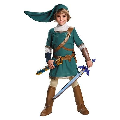 Legend Of Zelda Link Prestige Kids  Costume - X-Large   Target 0c33137533f6e