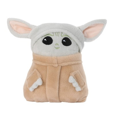 Toddler Star Wars: The Mandalorian The Child Plush Character Blanket