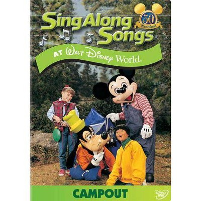 Sing Along Songs at Walt Disney World: Campout (DVD)(2005)