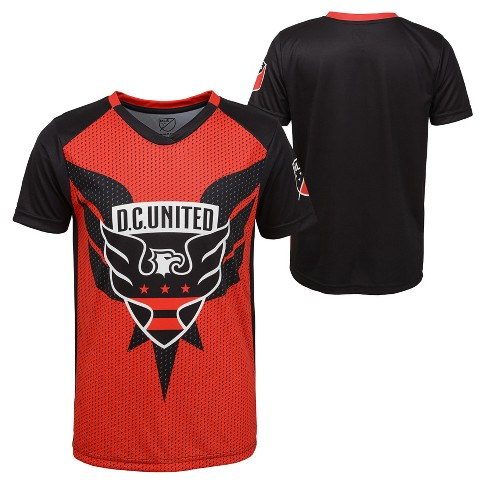 Boys' Short Sleeve Game Winner Sublimated Performance T-Shirt D.C. United - image 1 of 3