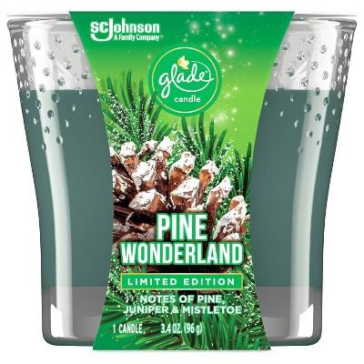 Glade Jar Candle Pine Wonderland - 3.4oz