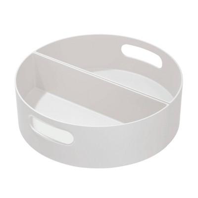 iDESIGN 2pc Handled Turntable - Gray