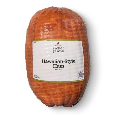 Hawaiian Style Ham - Deli Fresh Sliced - price per lb - Archer Farms™