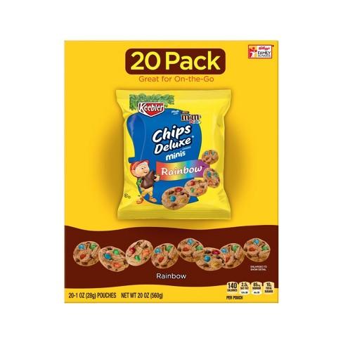 chips deluxe mini rainbow cookies 1oz 20ct keebler target