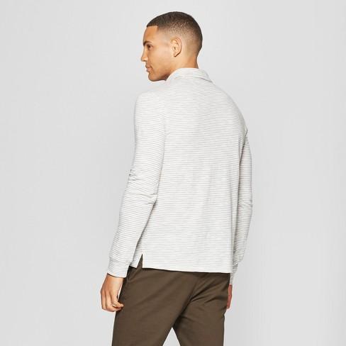 c24ac9468d0 Men's Standard Fit Long Sleeve Jersey Polo Shirt - Goodfellow & Co ...